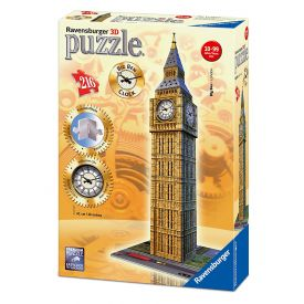Big Ben with Clock - Jigsaw Puzzle - 216pc 3D