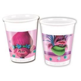 Trolls Plastic Party Cups (8 Pack)