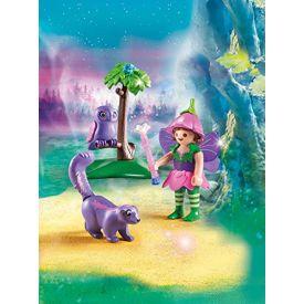 Playmobil  Fairy friends owl skunk