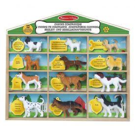 Melissa and Doug - Canine Companions Pretend Play Figures