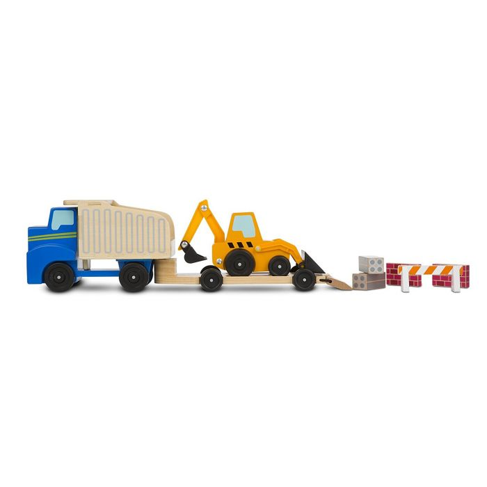 Melissa and Doug - Dump Truck and Loader