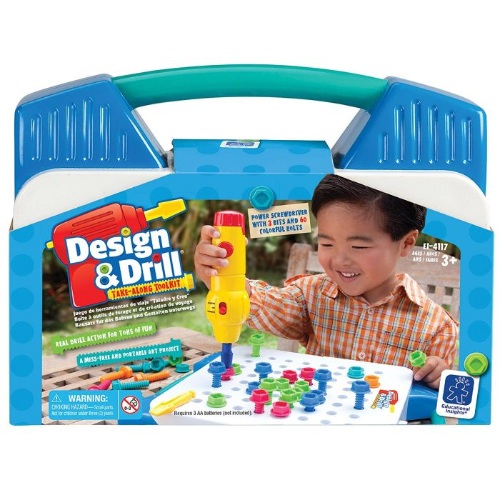 Learning Resources Design and Drill Take-Along Tool Kit