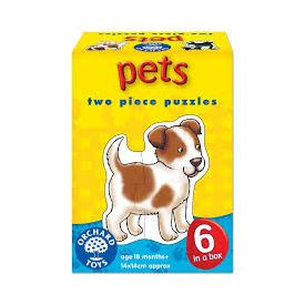 Orchard Toys Pets Two Piece Puzzle