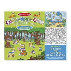 Colour Your Own Sticker Pad Animals