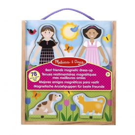 Melissa and Doug Best Friends Magnetic  Dress-Up