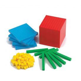 Base Ten Set 121 Pieces