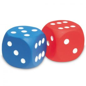 Learning Resources Foam Dot Dice 4cm