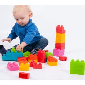 Chunky Soft Brick Set 45 Pieces