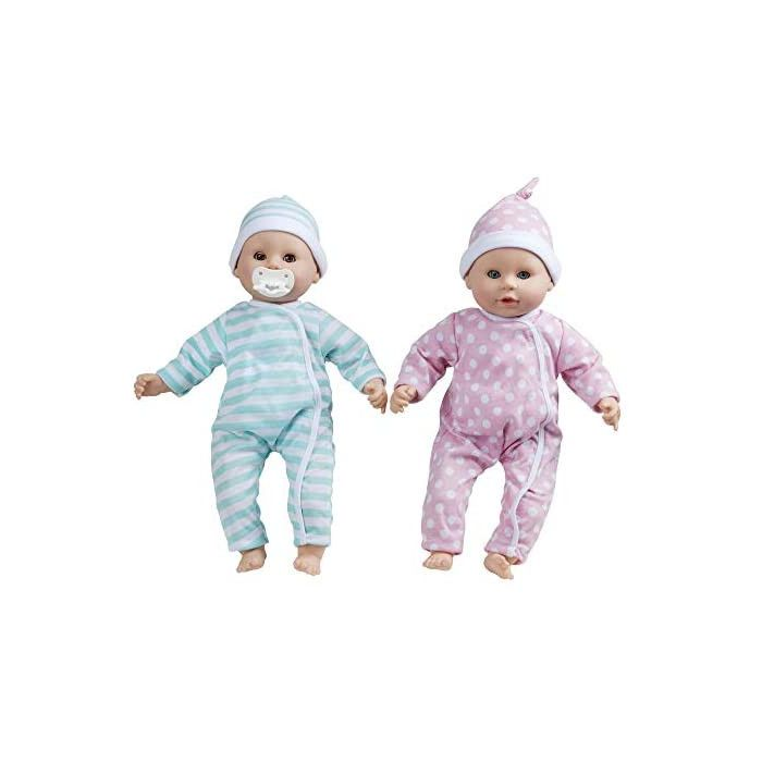 Melissa and Doug Mine to Love Twins Luke & Lucy Dolls