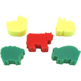 Farm Animal Themed Sponge Painting Set (of 5)