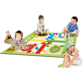 Ludo Giant Outdoor Dice GameMat size: 180 x 160 cm