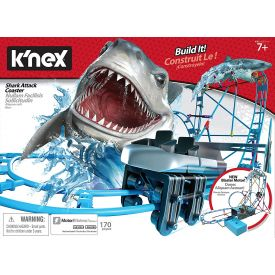 K'Nex Tabletop Thrills Shark Attack Coaster