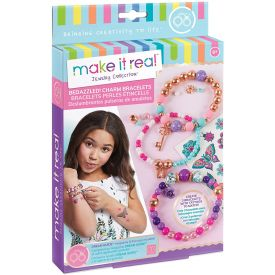 Make It Real Bedazzled! Charm Bracelets