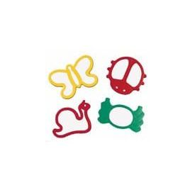 Giant Bugs Cutters (set of 4)