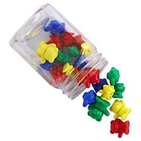 Edx Small Back Pack Bear Counters Mini Jar 60 pieces