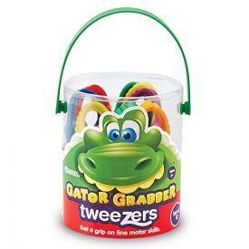 Learning Resources Gator Grabber Tweezers (Set of 12)