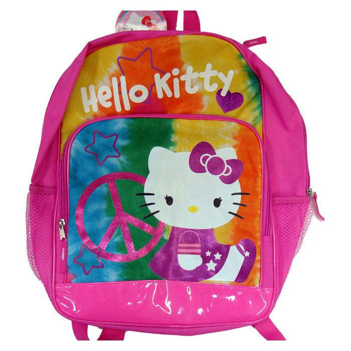 Hello Kitty Peace Back Pack (Large)