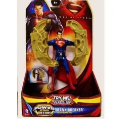 Superman - Man Of Steel -  Power Attack Deluxe- Bashing/Megastarker