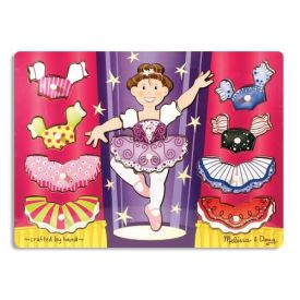 Melissa and Doug - Ballerina Dress Up Peg Puzzle