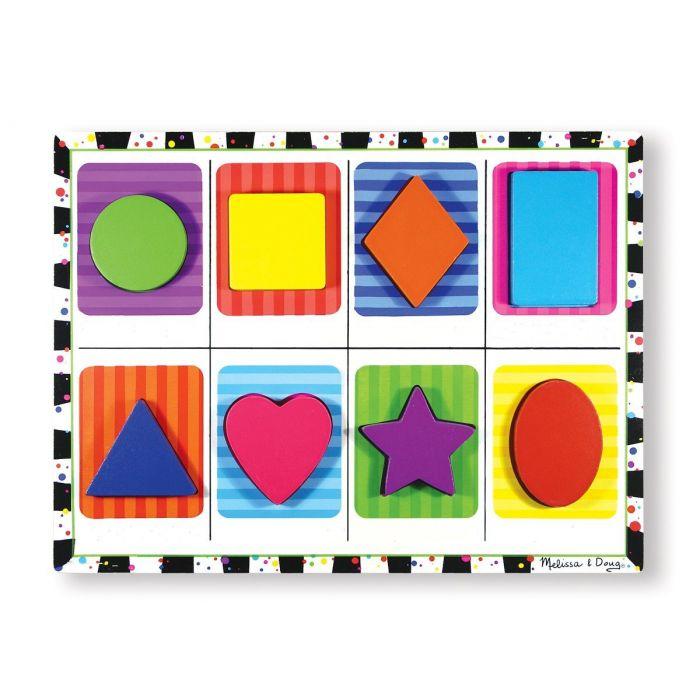 Melissa and Doug - Shapes Chunky Puzzle