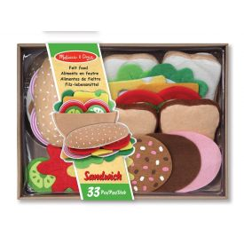 Melissa and Doug - Felt food Sandwich Set