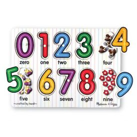 Melissa and Doug - See Inside Number Peg Puzzle
