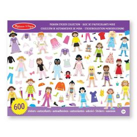 Melissa and Doug - Fashion Sticker Collection
