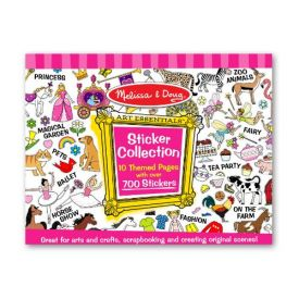 Melissa and Doug - Pink Sticker Collection