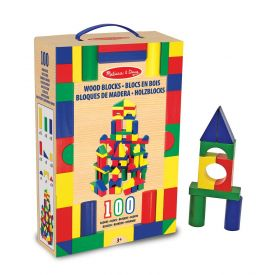 Melissa and Doug - Wooden Blocks