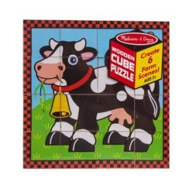 Melissa and Doug - Farm Cube Puzzle
