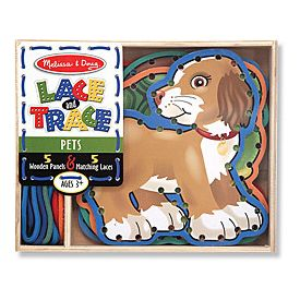 Melissa and Doug - Lace and Trace Animals