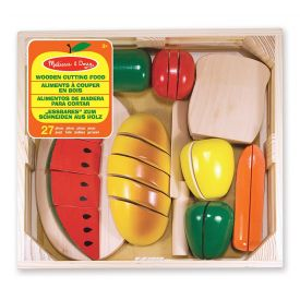 Melissa and Doug - Wooden Cutting Food