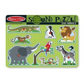 Melissa and Doug - Zoo Animals Sound Puzzle