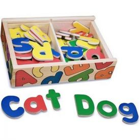 Melissa and Doug - Magnetic Wooden letters
