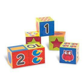 Numbers and Shapes Puzzle Blocks