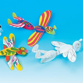 Colour-In Insect Gliders